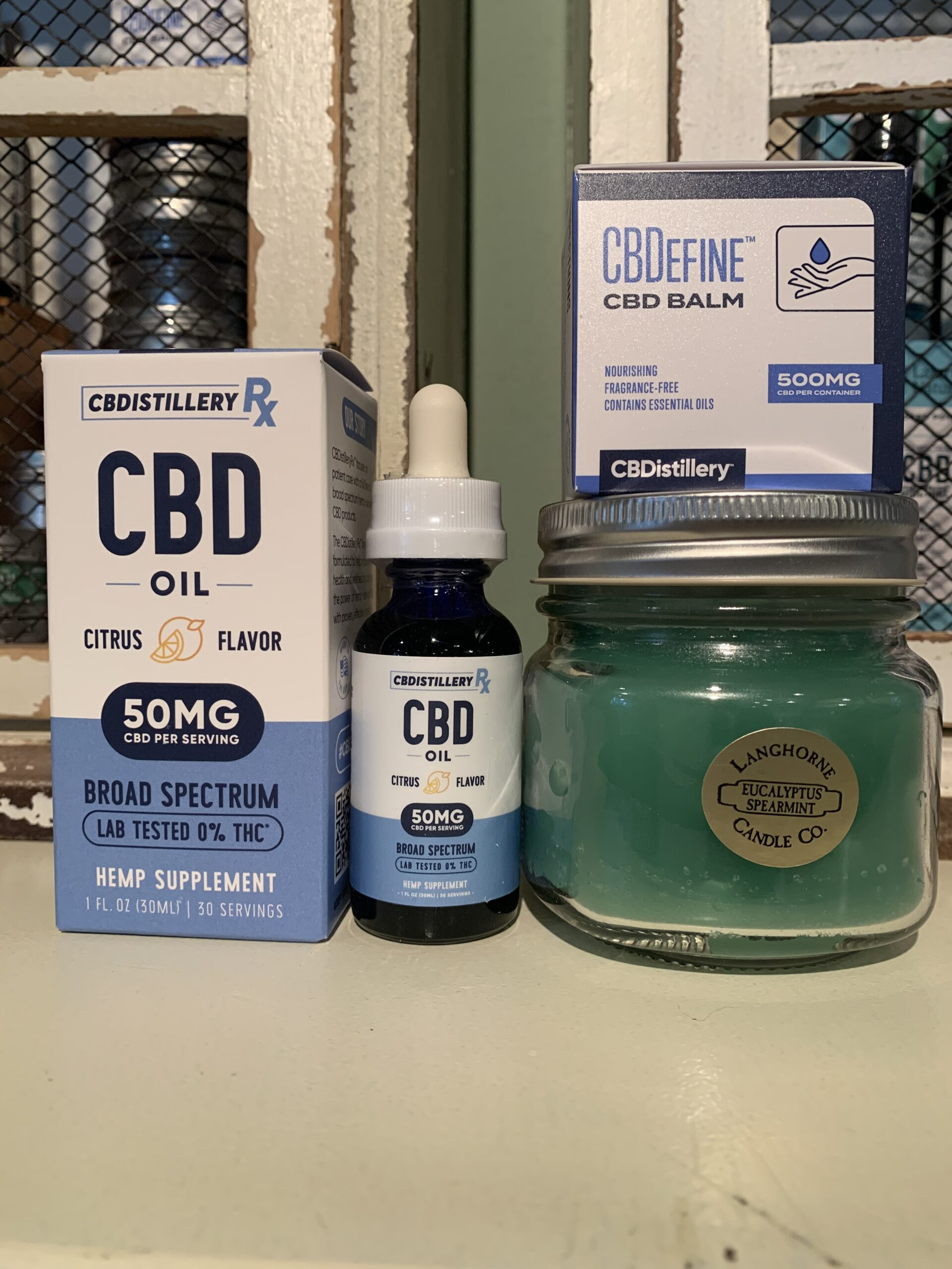 Comfort Kit-CBDistillery Pain & Relief