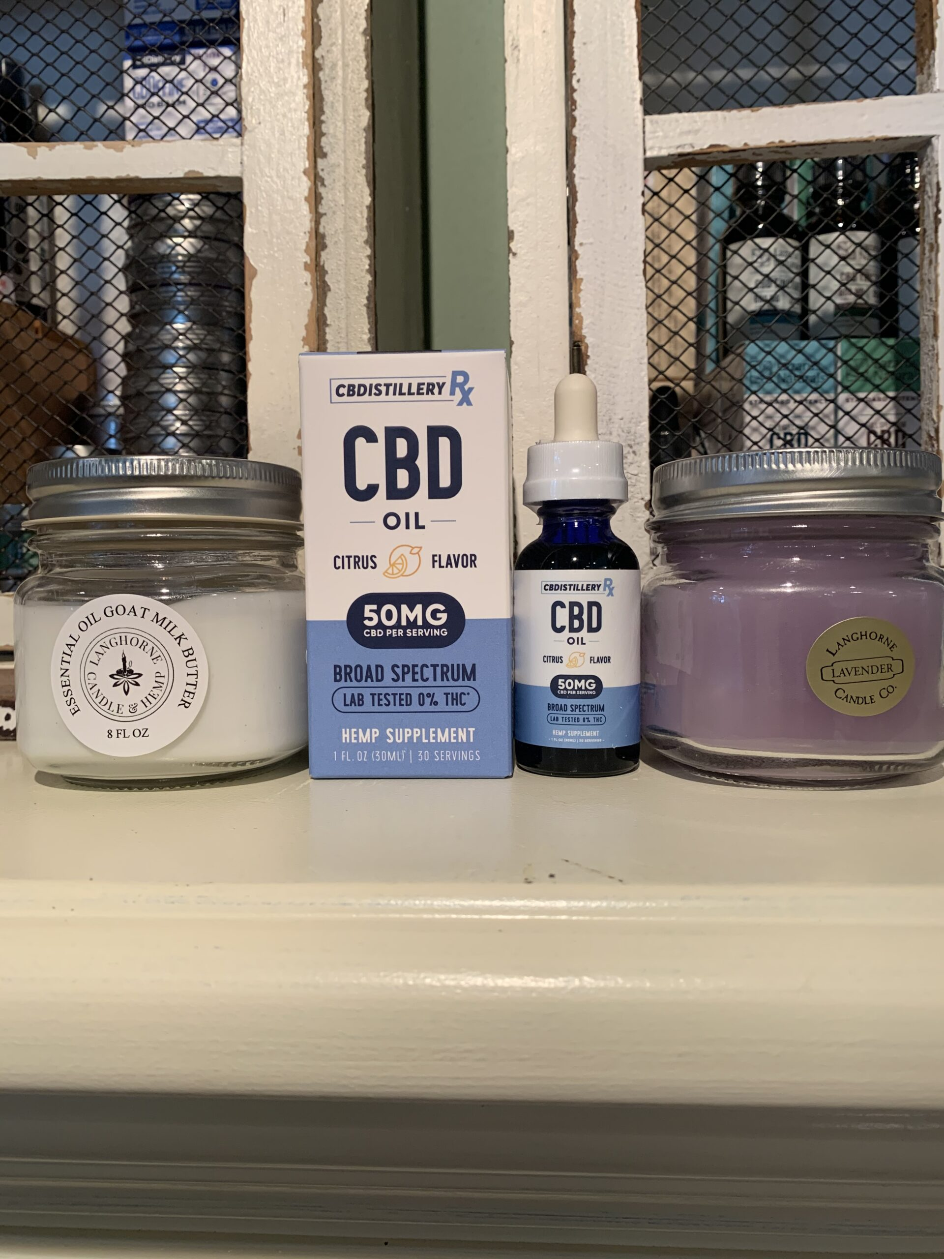 Comfort Kit-CBDistillery Stress & Anxiety
