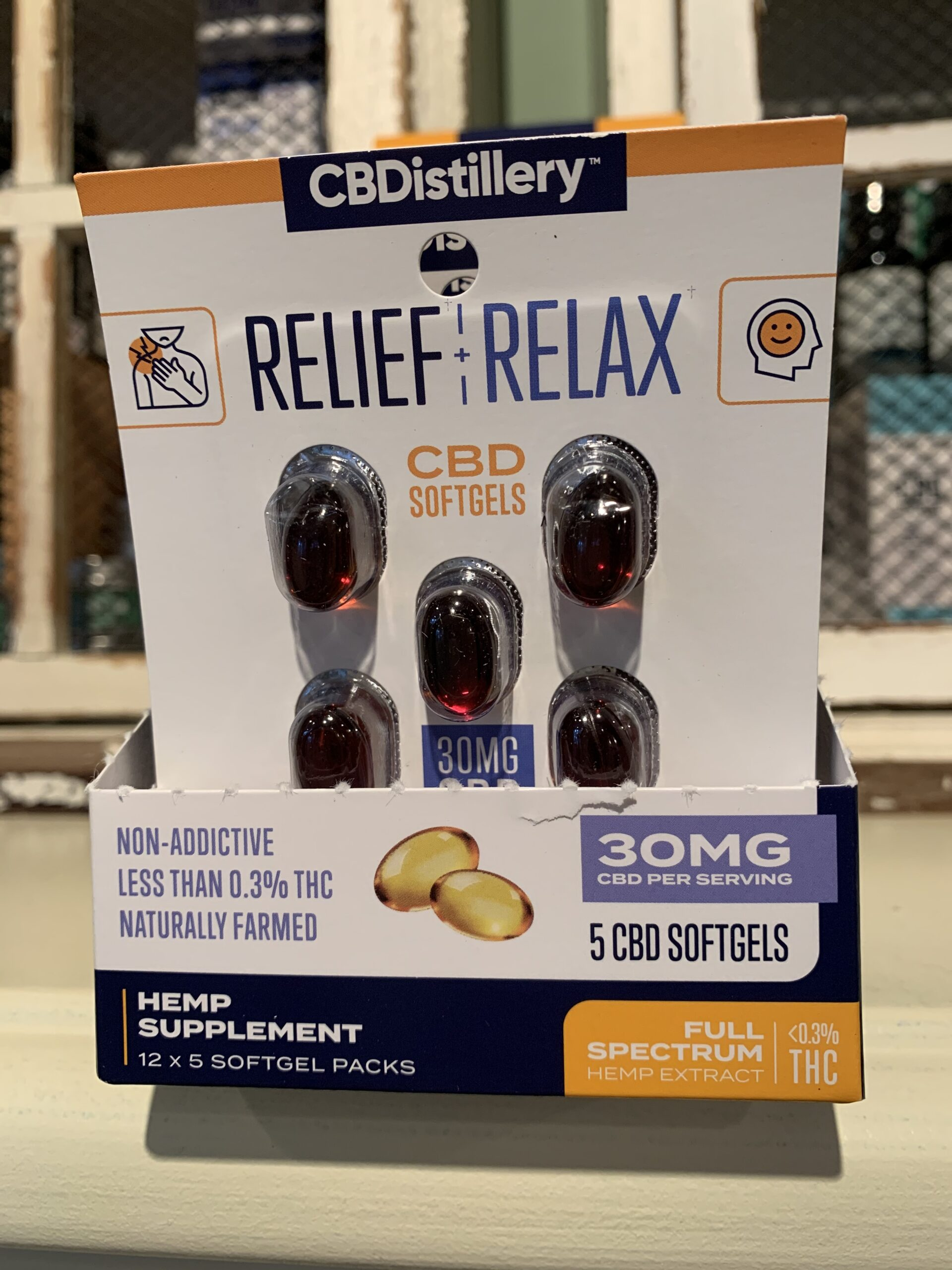 Relief & Relax CBD Softgels Trial