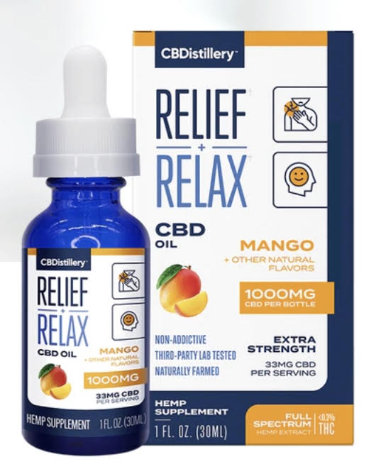 CBD Oil Mango 1000mg