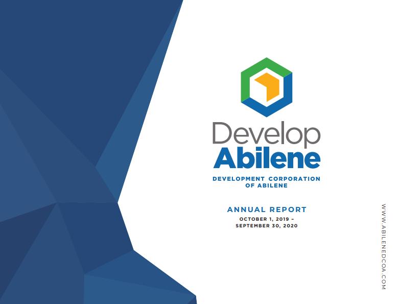 Develop Abilene Annual Report