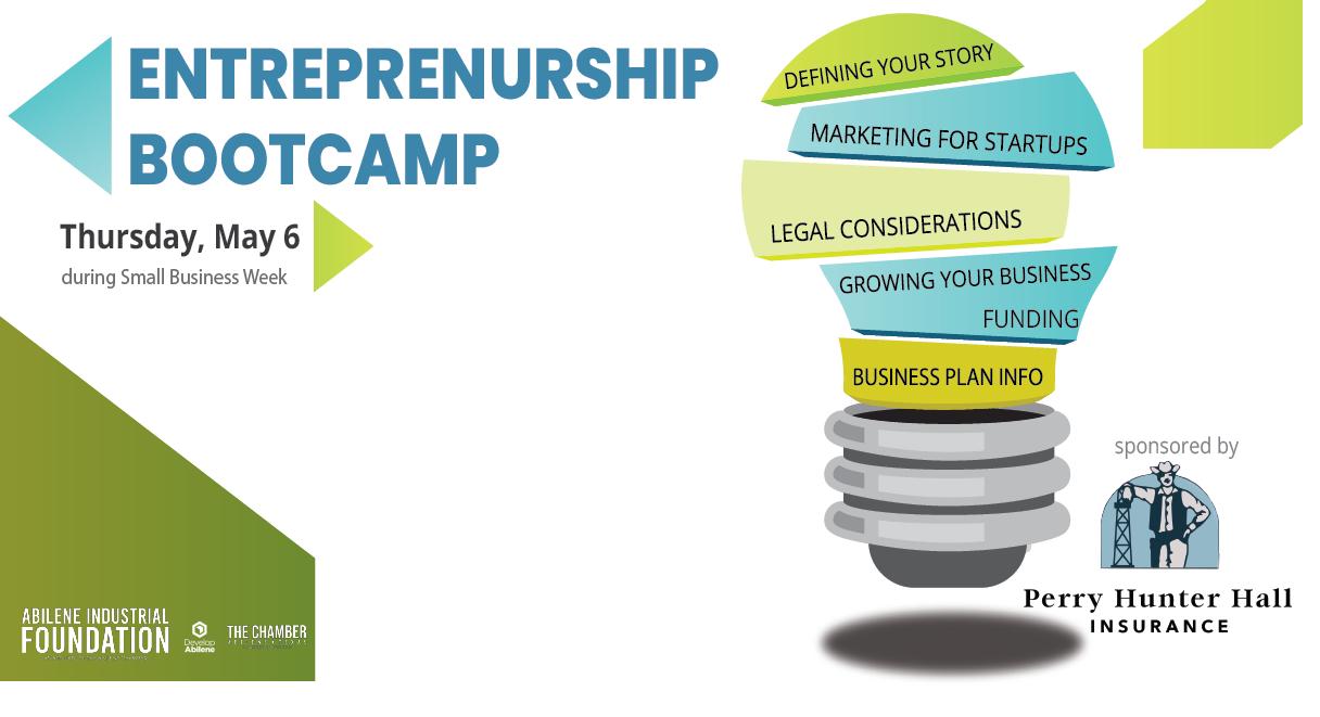 Abilene Industrial Foundation to Host Inaugural West Texas Entrepreneurship Bootcamp