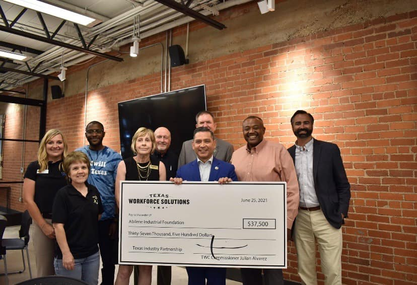 Abilene Industrial Foundation and Partners Receive Texas Industry Partnership Grant