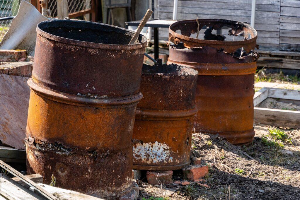 Phase 1 Environmental Survey discover abandoned materials