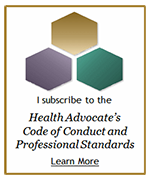 Health Advocate's Code of Conduct and Professional Standards