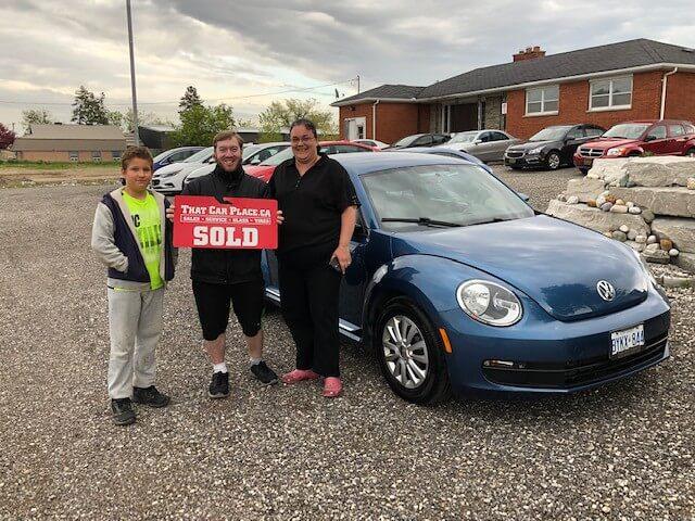 2016 VW beetle #5165 Ali's deal