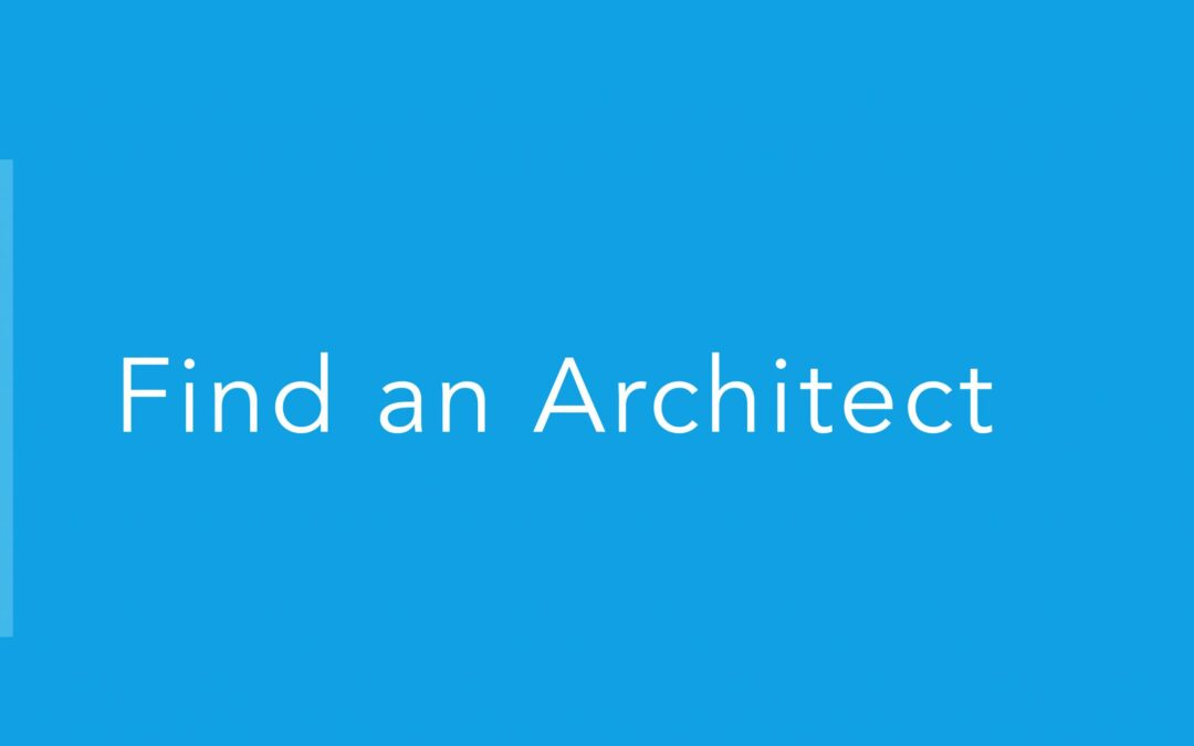 How an Architect Can Help