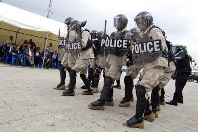 Mass killing by Haitian Police