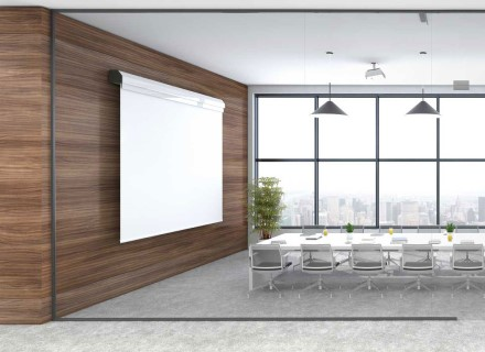 Window to conference room