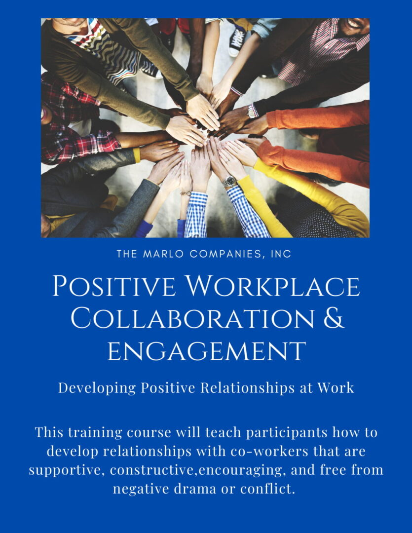 PWCE-Developing Positive Relationships at Work-1