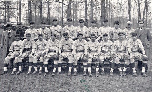 Red Smith and the 1931 Seton Hall Baseball team