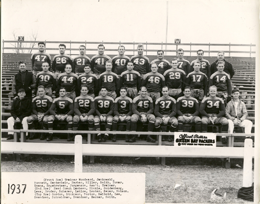 Red Smith and the 1937 Green Bay Packers