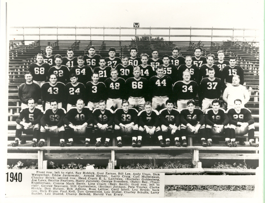 Red Smith and the 1940 Green Bay Packers