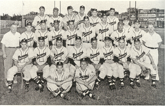 Red Smith as a Brewer in 1952