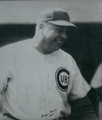 Red Smith as part of the Chicago Cub coaching staff in 1945