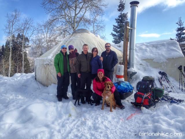 The Norway Flats Yurt, TUNA Yurt, Yurts of Utah