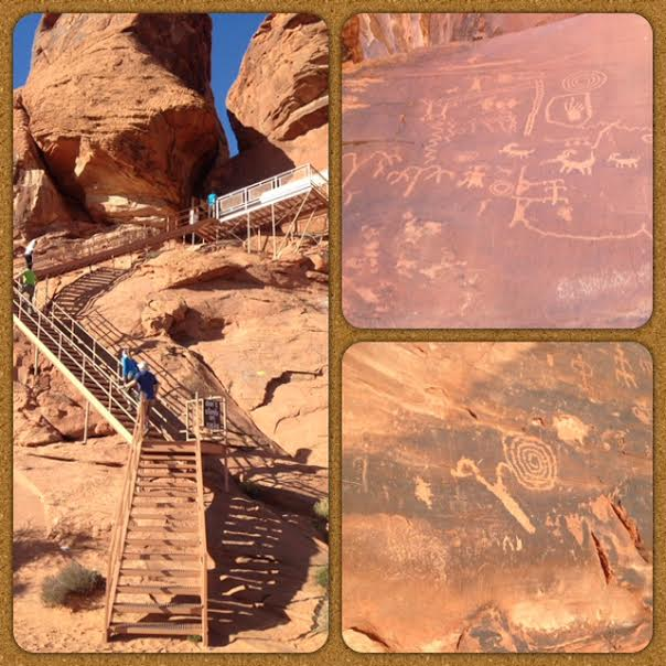 Valley of Fire State Park, Nevada State Parks, Atatl Rock