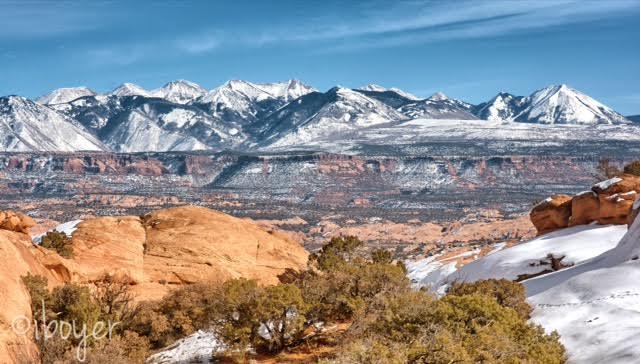Slickrock Trail Guide, Slickrock Trail Maps, Slickrock Moab, Sand Flats Recreation Area, La Sal Mountains