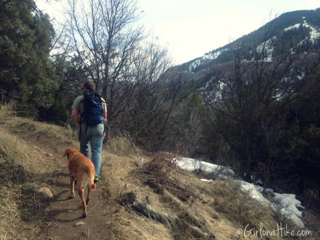 Wind Caves Trail, Logan, Utah, Hiking in Logan Canyon, Hiking in Utah with dogs