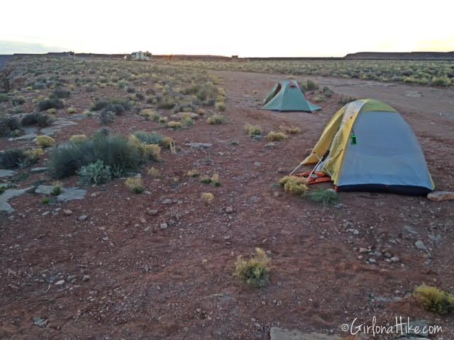 Goosenecks State Park, Camping at Goosenecks State Park, Utah