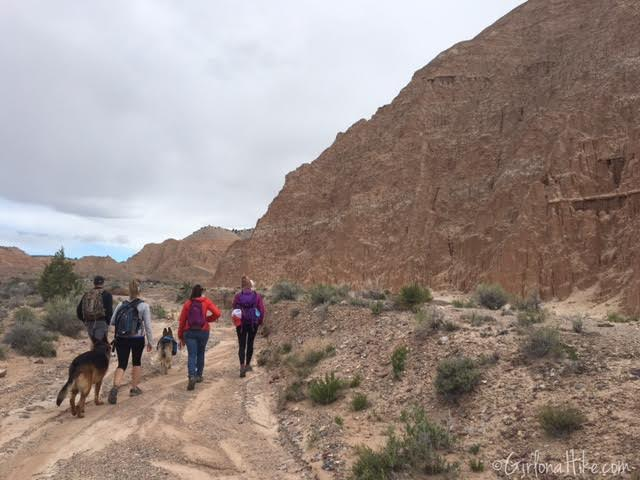 Hiking and Camping at Cathedral Gorge State Park, Juniper Draw Trail Guide