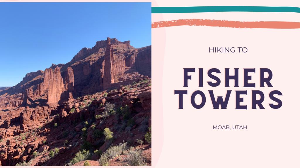 Hike Fisher Towers, Best Dog Friendly Trails in Moab, Utah