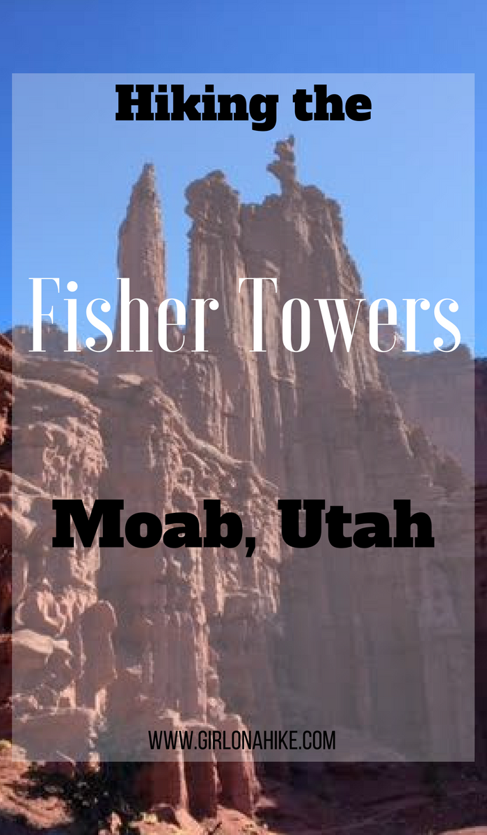 Hiking The Fisher Towers, Moab, Hiking with Dogs in Moab, Utah