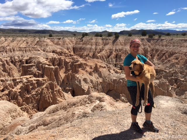 Hiking and Camping at Cathedral Gorge State Park, Miller Point Overlook