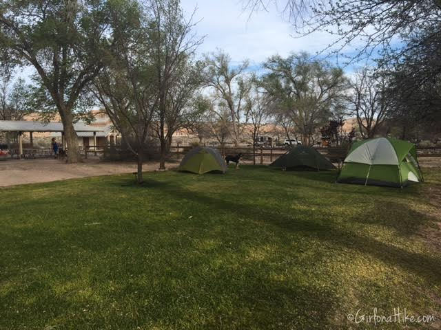 Hiking and Camping at Cathedral Gorge State Park