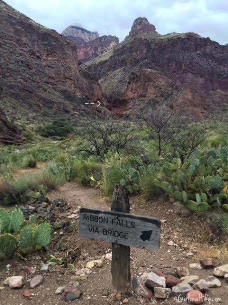 Hiking to Ribbon Falls, Grand Canyon National Park