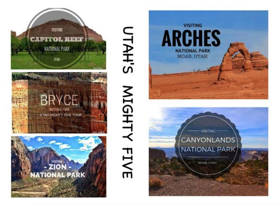 Utah's Might Five National Parks