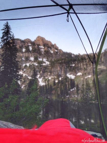 Backpacking to White Pine Lake, Logan Canyon, Utah