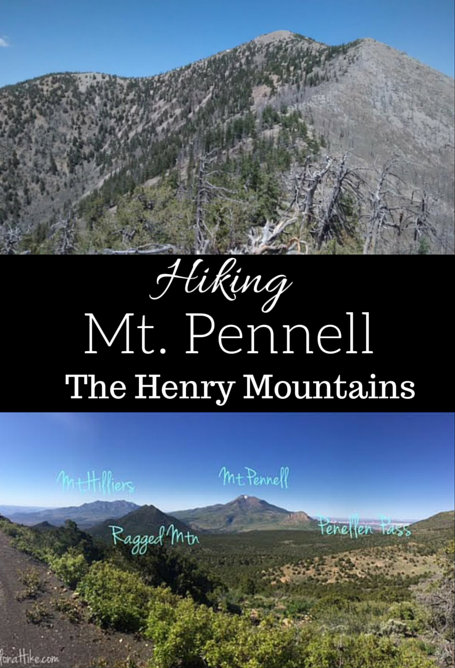 Hiking Mt. Pennell, Henry Mountains, Utah