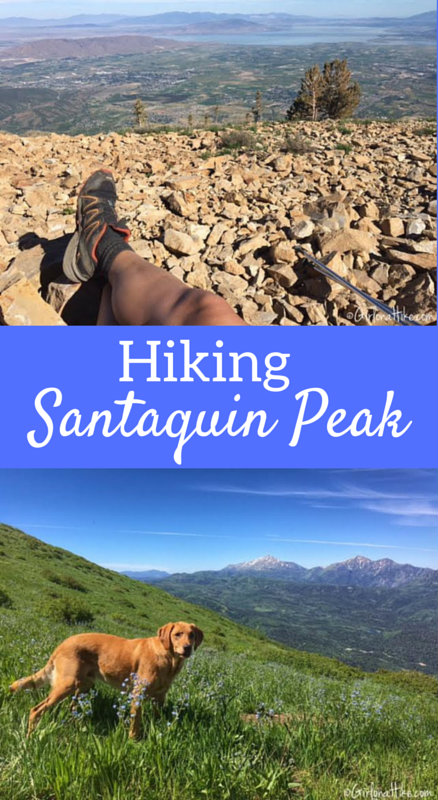 Hiking to Santaquin Peak, Wasatch Peak Baggers