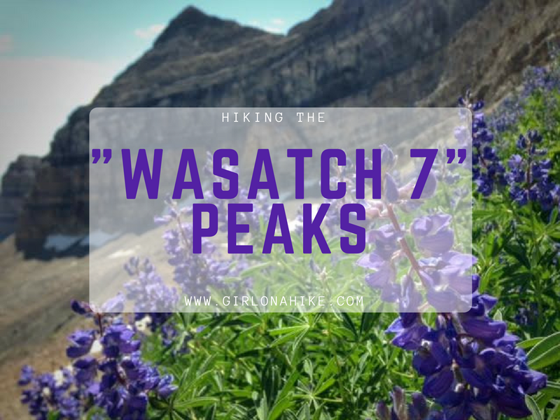 """Hiking the """"Wasatch 7"""" Peaks!"""