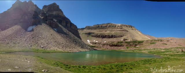 Backpacking to Rock Creek Basin, High Uintas