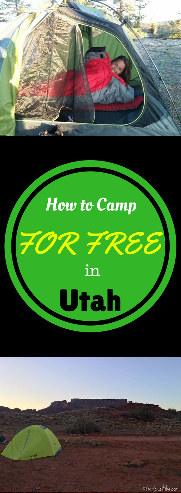 How to Camp for FREE In Utah!