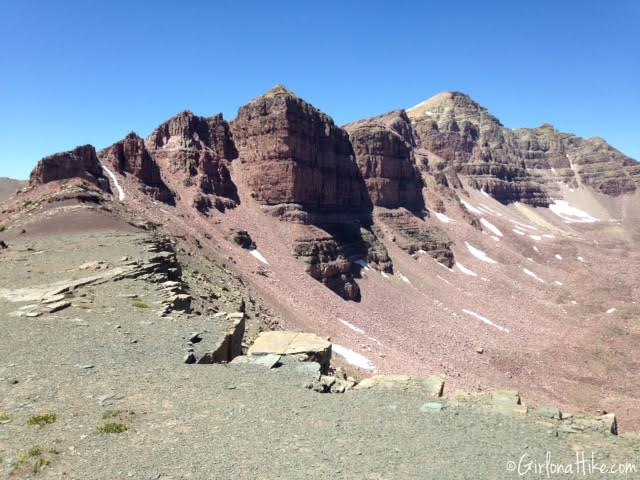 Backpacking to Rock Creek Basin, High Uintas, Dead Horse Pass