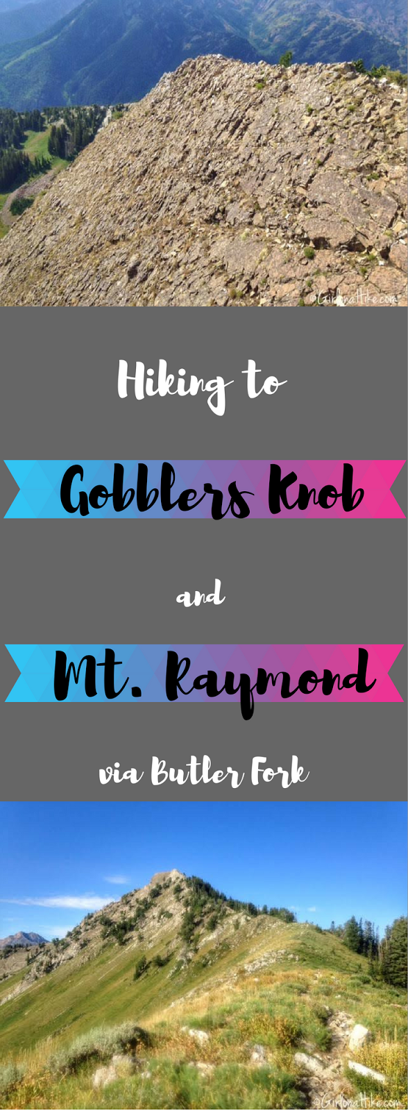 Hiking to Gobblers Knob and Mt. Raymond