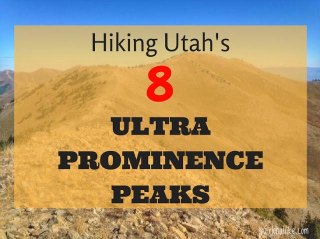Utah's Ultra Prominent Peaks