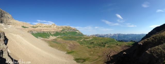Hiking Mt. Timpanogos via Aspen Grove
