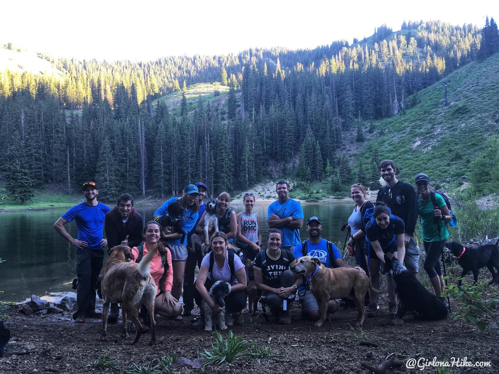 Hiking to Shadow Lake via Guardsmans Pass, Hiking in Utah with Dogs