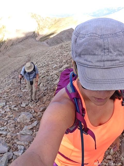 Hiking to Mt. Peale & Mt. Tukuhnikivatz, Utah Ultra Prominence Peaks
