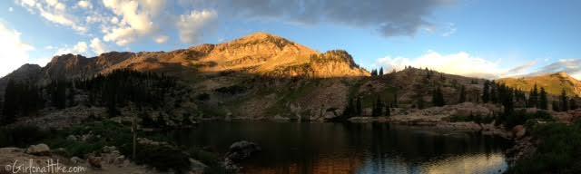 Hiking to Cecret Lake & Sugarloaf Peak