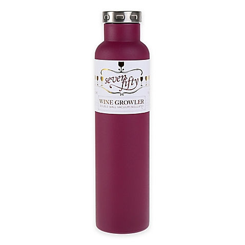 Fifty Fifty 750ml Wine Growler