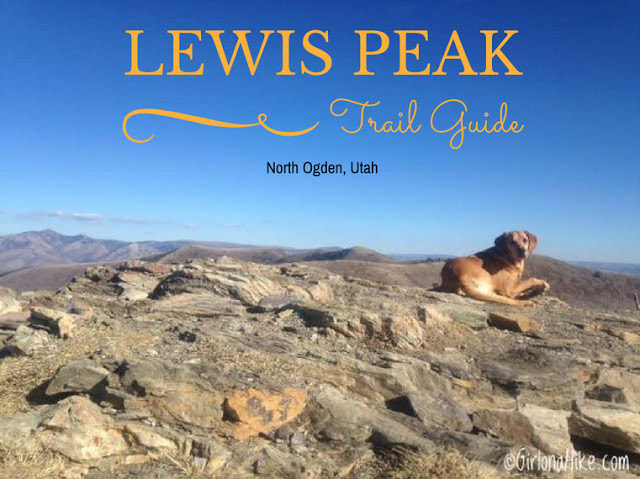 Hiking to Lewis Peak, Ogden