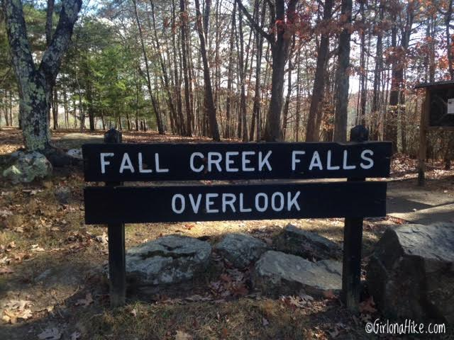 Hiking at Falls Creek Falls State Park, Tennessee , Best Waterfalls on the East Coast