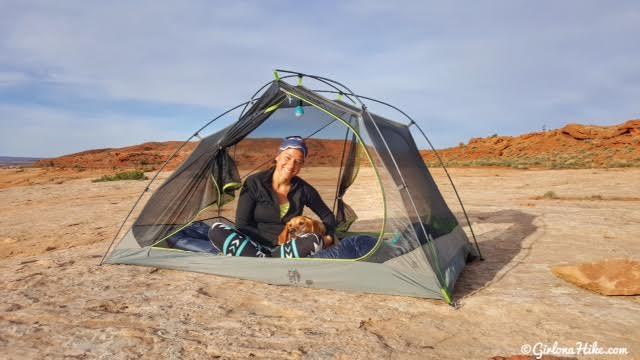 Camping near Hiking to Five Hole (Colonnade) Arch