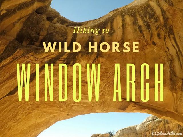 Hiking to Wild Horse Window Arch, San Rafael Swell