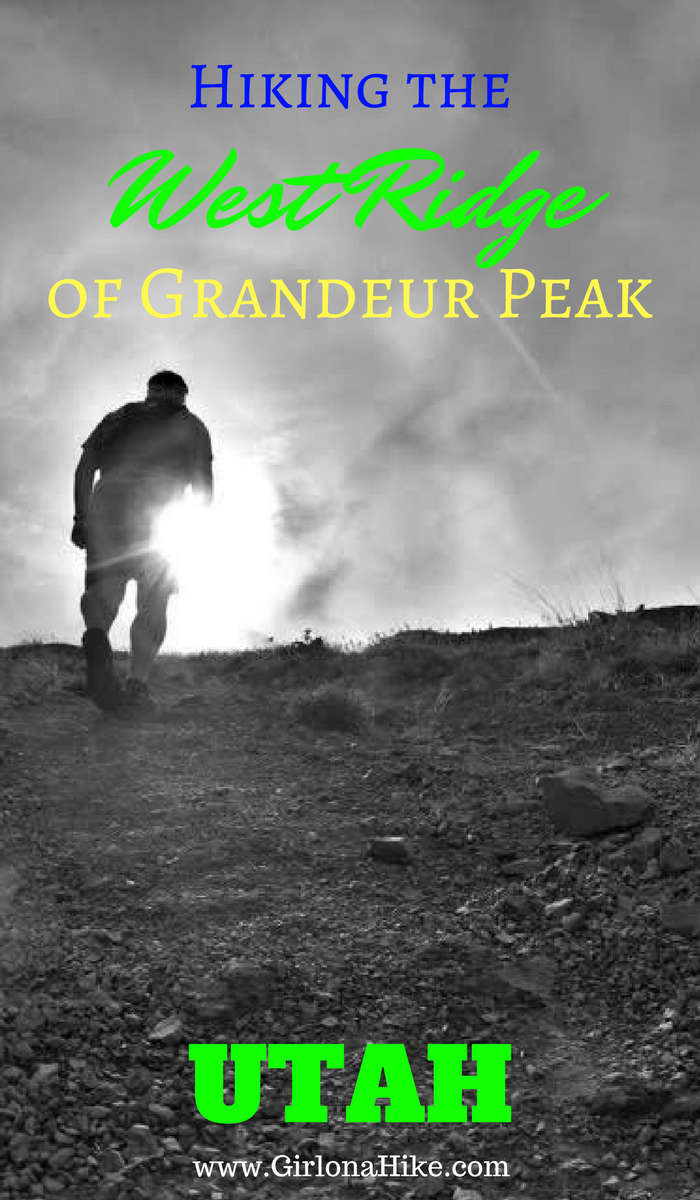Hiking the West Ridge of Grandeur Peak